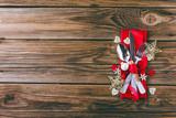 Weihnachten Menü Hintergrund - 177278019