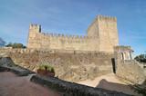 Medieval castle of Leiria in Leiria city, Portugal  - 177294202