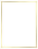 Vector, Gold Border for Christmas - 177308674