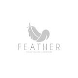 Feather. Logo