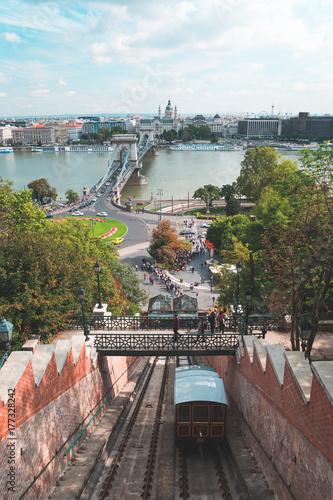 Papiers peints Budapest Chain Bridge