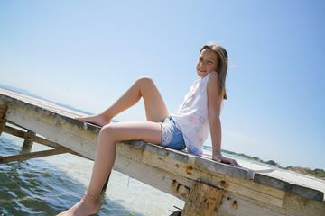 loisir, vacances, plage