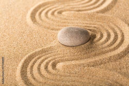 Foto op Canvas Zen Faith.