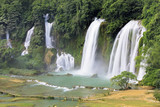 Detian Waterfalls in China, also known as Ban Gioc in Vietnam - 177358216