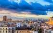 Barcelona at Sunset