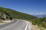Beautiful view from the winding road - 177395816