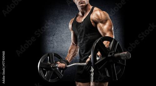 Black body builders hot work out