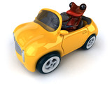 Fun frog- 3D Illustration - 177405468