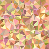 Irregular triangle mosaic vector background design from happy colors