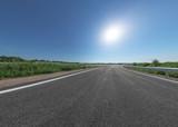 Autobahn Abfahrt