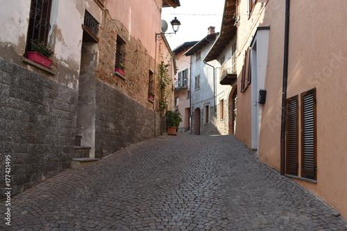 Staande foto Smal steegje Street of Manno