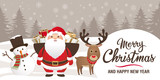 Christmas and new year elements - Icons, characters, labels, lettering - 177421638