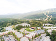 Aerial view of Whistler skyline, Canada