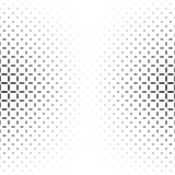 Black and white star pattern - abstract vector background graphic design