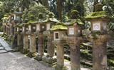 Stone lanterns, Nara, Japan - 177441017