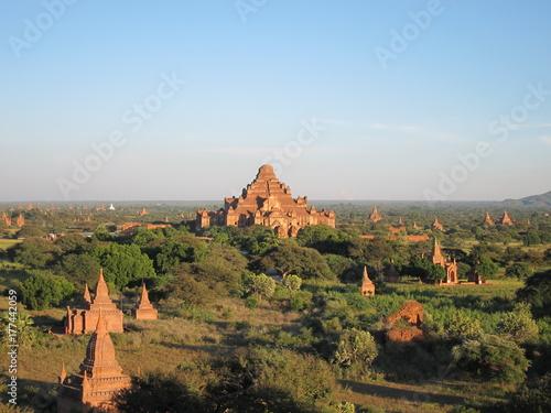 Bagan temples Myanmar. Poster
