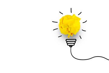 Creative idea. Concept of idea, innovation and Inspiration © Worawut