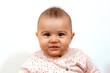 Quadro Baby Girl Cute Face