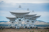 Very Large Array Radio Telescope Looking Up - 177458631