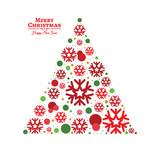 Vector Christmas Tree.