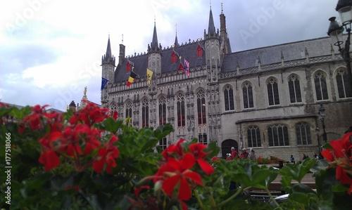 Fotobehang Brugge Belgien