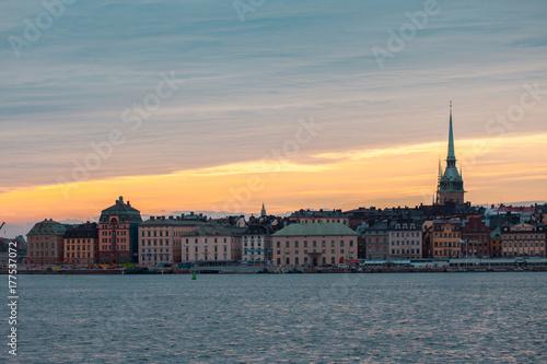 Staande foto Stockholm Stockholm. Cityscape image of Stockholm