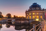 The Bode-Museum on the Museum Island in Berlin at sunrise