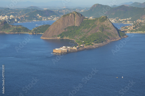 Landscape from Rio de Janeiro, Brazil Poster