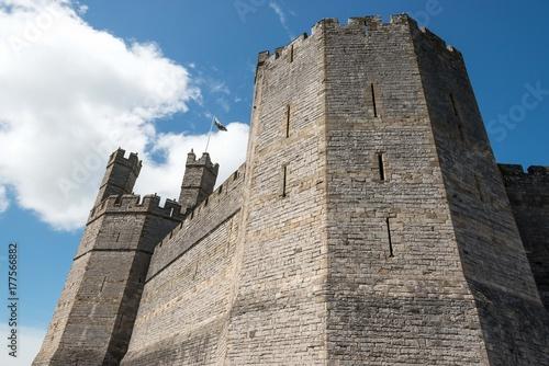 château de Caernarfon au pays de galles Poster