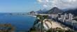 Quadro Panoramic view of Copacabana Rio de Janeiro Brazil