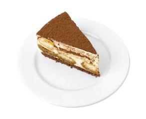 Delicious tiramisu cake.