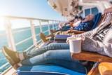 Deckchairs Cruise Ship Relax - 177646034