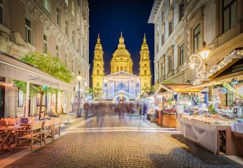 St. Stephens Basilica in Budapest, Hungary.