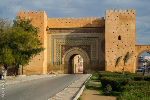 Papiers peints Maroc Morocco Meknes city gate Bab el Khemis