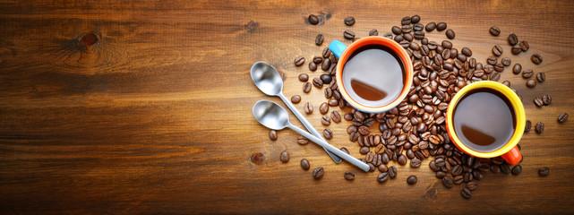 Espresso, two colorful cups © fabiomax