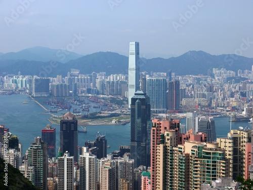 Vue du Peak Hong Kong Poster