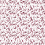 Seamless pattern with Orchids flowers