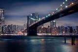 Brooklyn Bridge bei Nacht - 177686247