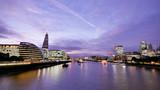 London office building skyscraper, working & meeting - 177703210