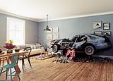 The broken car - 177713445