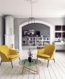 The Modern interior - 177713447