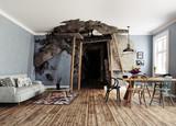 the mine interior - 177713452