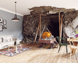 the Bitcoin mine interior - 177713457