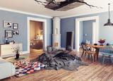 destroyed interior - 177713475