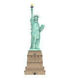 Statue of Liberty Isolated - 177718831