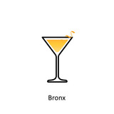 Bronx cocktail icon - 177725823