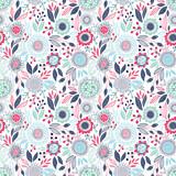 Seamless floral pattern - 177738238