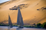 Felucca that sails the Nile - 177744443