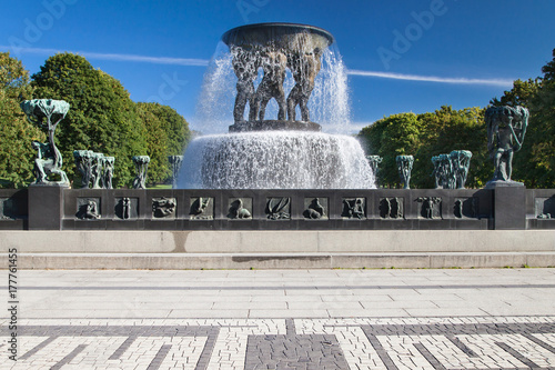 Vigeland Park, The Fountain Poster