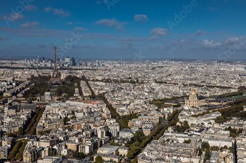 Papiers peints Tour Eiffel Paris vue du ciel